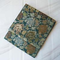 【ふくろ帯】鉄色地 乱菊文 川島織物製ふくろ帯