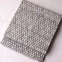 【なごや帯】ぜんまい幾何学真綿八寸