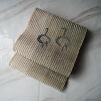 【なごや帯】砂色×薄岩井茶色地 抽象丸文 羅なごや帯