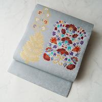 【なごや帯】岡重製 装飾更紗文 織りなごや帯
