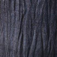 【men's・麻】紺藍色 無地 小千谷縮 3m4