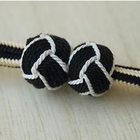 【羽織紐】墨色 小田巻房・マグネット羽織紐