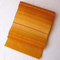 【なごや帯】黄金色系暈しロートン織りなごや帯