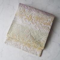 【ふくろ帯】横段暈しに金銀糸の洋更紗文ふくろ帯