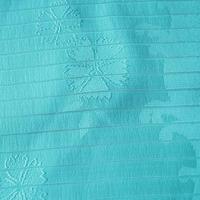 【帯揚げ・絽】水色 波に撫子の地紋 絽 帯揚げ   ㋥