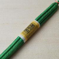 【羽織紐】道明羽織紐 緑色