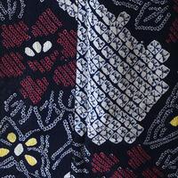 【浴衣】牡丹と蝶の絞り柄浴衣
