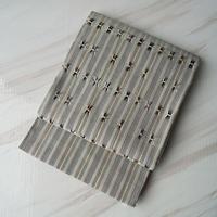 【ふくろ帯】浮かし織り縞模様洒落ふくろ帯