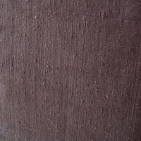 【袷】灰み京紫色  無地紬