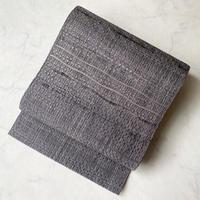 【夏なごや帯】手漉き和紙・野蚕糸 羅間道八寸なごや帯 未使用品
