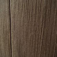 【袷】トールサイズ・焦げ茶色系 縞地紋無地着物