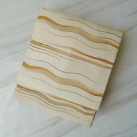 【ふくろ帯】波縞文織りなごや帯