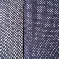 【袷】トールサイズ・藍鉄色地  水玉柄小紋