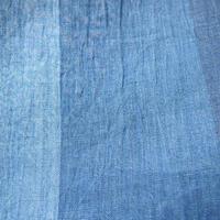 【夏・麻】藍色系五色使い小千谷縮