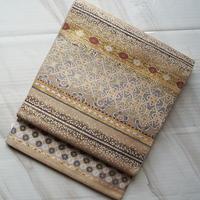 【ふくろ帯】西陣となみ製 横段紹巴織ふくろ帯