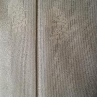 【単衣】花籠文の飛び柄塩沢紬