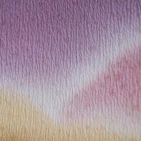 【帯揚げ】濃淡紫×卵色 遠山文 帯揚げ №210420f