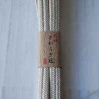 【帯締め】平田紐 冠組帯締め  薄砂色 1