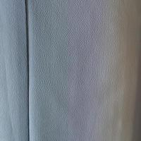 【袷】灰水色暈しポリエステル小紋 5k24