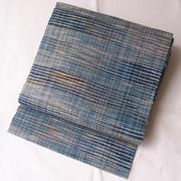 【なごや帯】阿波天然藍染 八寸なごや帯