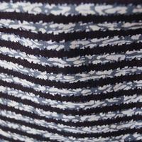 【men's・浴衣】紺色系変わり縞浴衣 5m1