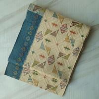 【なごや帯】幾何学文織り八寸なごや帯
