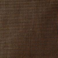 【袷】ブラウン地千鳥格子柄木綿着物
