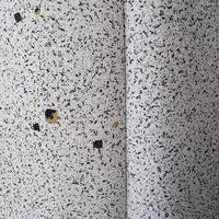 【袷】たたき染め箔散らしの小紋