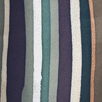 【袷羽織】アースカラー 縞文 羽織