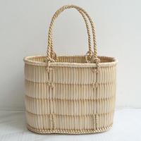 【籠】蒜山がま細工のかごバッグ 小サイズ