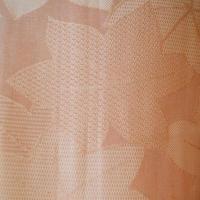 【夏・紗】サーモンピンク系の紅葉柄紗着物