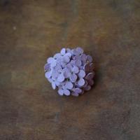 ブローチ あじさい(薄紫)