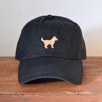 キャップ 犬×ブラック