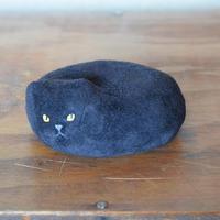 革張り子 黒猫