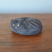 革張り子 サバトラ猫