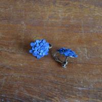 藍染あじさいイヤリング