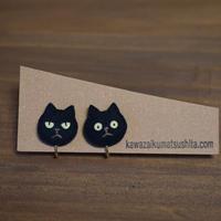 ピアス/イヤリング 黒猫