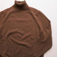 FEDEI  100%cashmere turtle neck knit