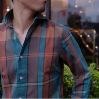 Finamore check shirt
