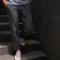 Capobianco gray herringbone pants