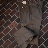 【FORTELA】herringbone cotton pants  khaki