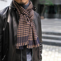 【ROSI COLLECTION】BIG HOUNDSTOOTH STOLE