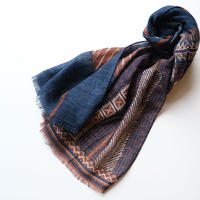 【ROSI COLLECTION】wool100%  native pattern