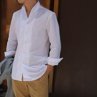Massimo d'Augusto   one piece collar white cotton100%