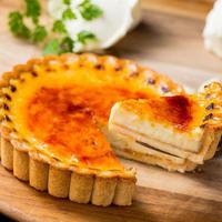 【在庫限り】燻製屋のスモークチーズブリュレ 12cm 1ホール