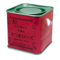 紅茶 さつまローズ 缶
