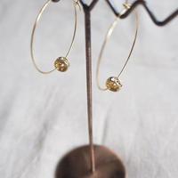 Rondel hoop pierce