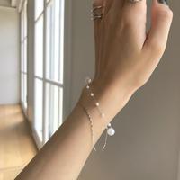 Double pearl bracelet