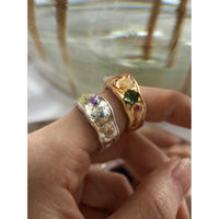 WAVE DRY FLOWER RING