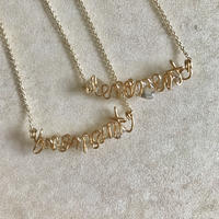 Order Name necklace